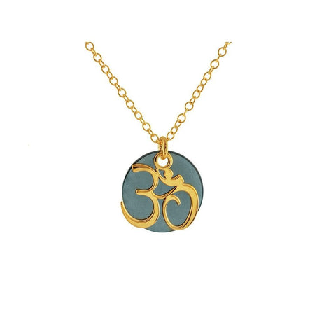 ohm symbol necklace