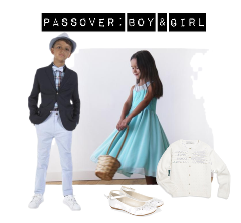 passover outfits for a boy and a girl