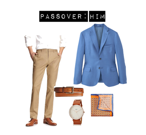 Passover style for him