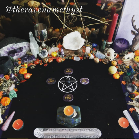 mabon altar the pickle witch