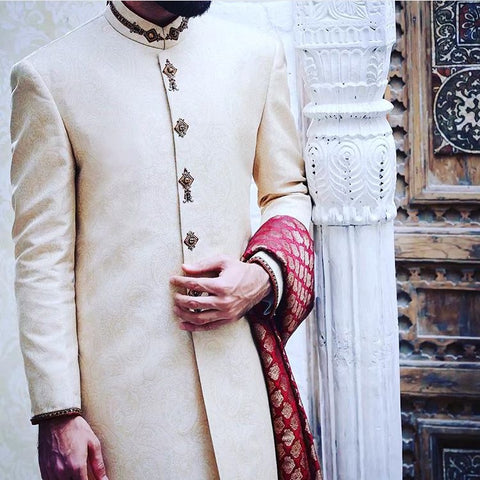Sherwani men Indian wedding