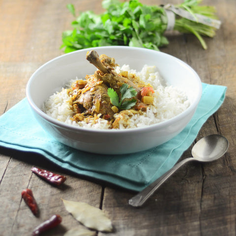 slow cooker goan chicken coconut curry