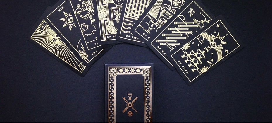 tarot card deck by golden thread tarot