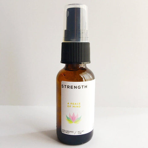 strength and peace meditation spray mist