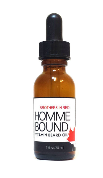 Beard Oil - Brothers In Red-Vitamin Beard Oil From Homme Bound
