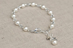Bracelets - First Communion Bracelet From Willow And Bee