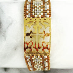 Bracelets - Gothic Cross Bracelet From Mishky