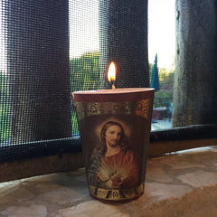 Candle - Mexican Catholic Votive Candles