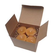 Candles - 24 Hour Beeswax Votive- 4 Pack