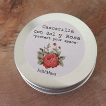 Cascarilla Powder with Rose and Salt