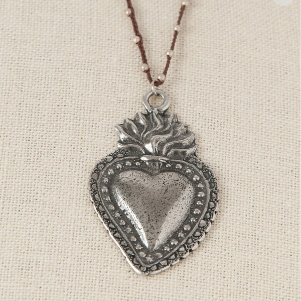 NECKLACE - Milagro Heart Necklace From Tara Gasparian