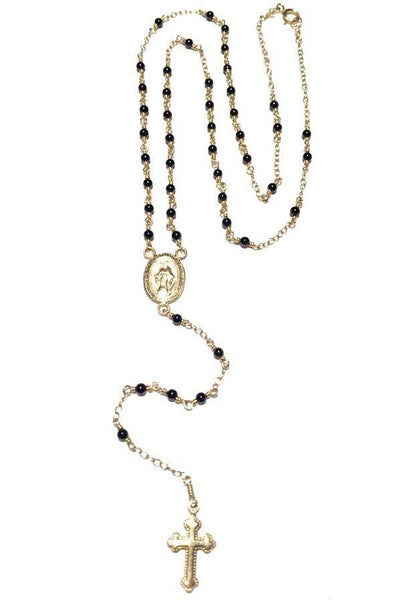 NECKLACE - Panama Rosary Necklace From Delicate Raymond-17""