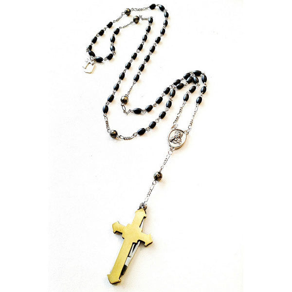 Necklace - Perry Cross Necklace By Fitrou