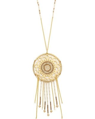 "NECKLACE - ""Sunny"" Dreamcatcher Beaded Necklace From Mishky"