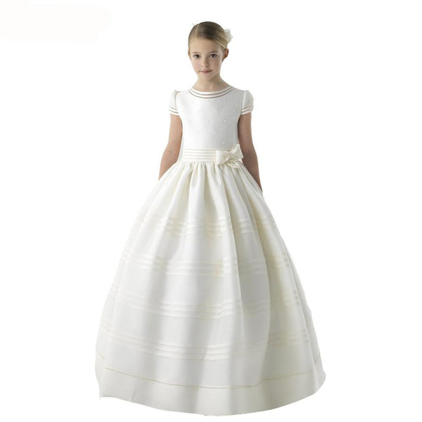 ivory first holy communion dress