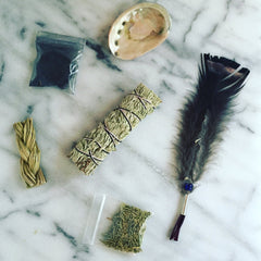 Sage Smudge Kit - Sage Smudge Kit For House Cleansing