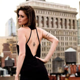 TribeTops 'Tribe Harder' Backless Yoga Tank Top