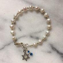 Star of David Pearl Bracelet From Willow And Bee