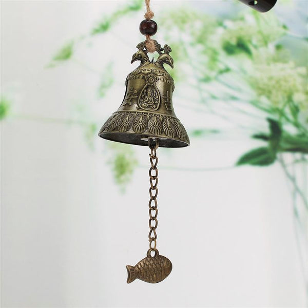 Wind Chimes - Chinese Wind Chimes Or Bells With Feng Shui Fish