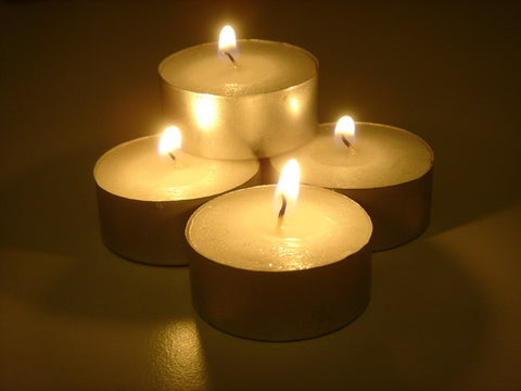 Tealight Candles ~ Plain/Unfragranced 6 x 5 Hour