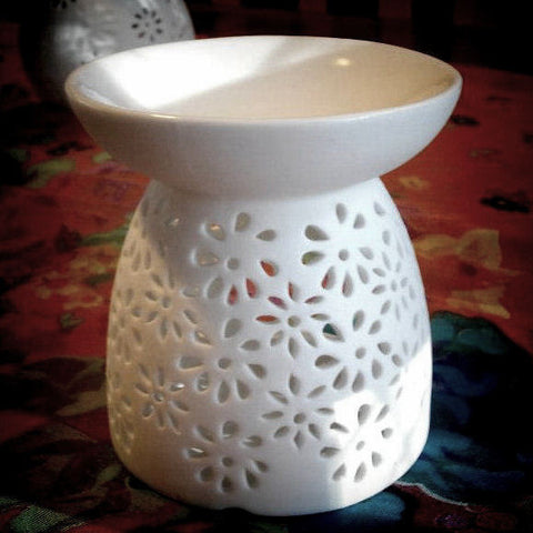 Daisy Tealight Wax Warmer