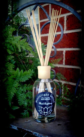 300ml Reed Diffuser with natural lid & collar
