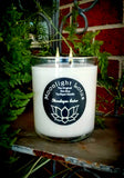 Fragranced White Eco Soy Candles - Jumbo