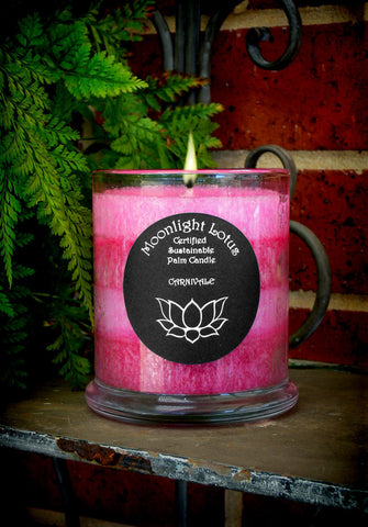 Carnivale Certified Sustainable Palm Wax Candle