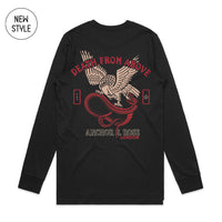 Death from Above Black Longsleeve