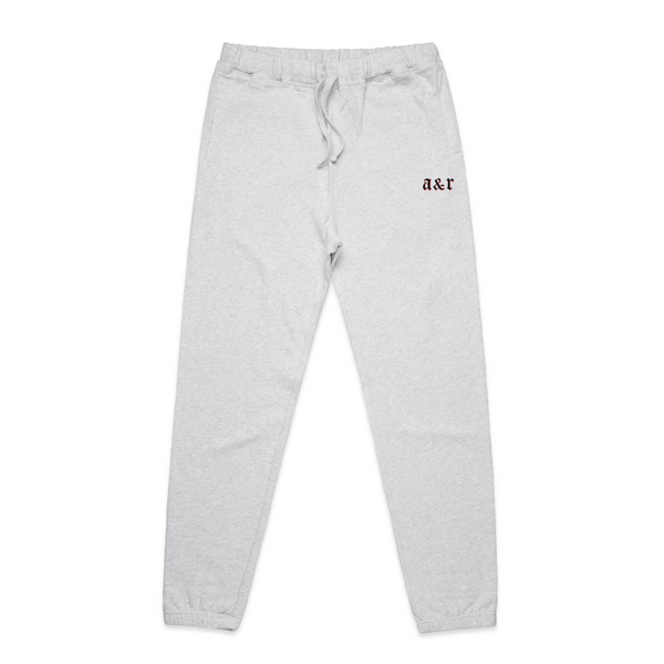 A&R Embroidered Essential Heather Sweatpants