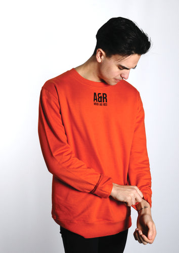 ARL - Burnt Orange Sweatshirt