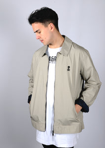 ARL Embroidered Parchment Harrington Jacket