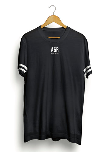 Black Longline Essentials T-Shirt
