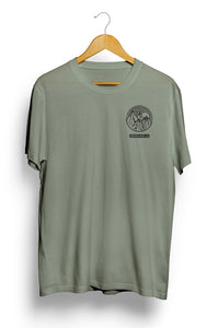 Khaki Mountain Graphic T-Shirt