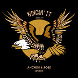 Black Wingin' It Graphic T-Shirt