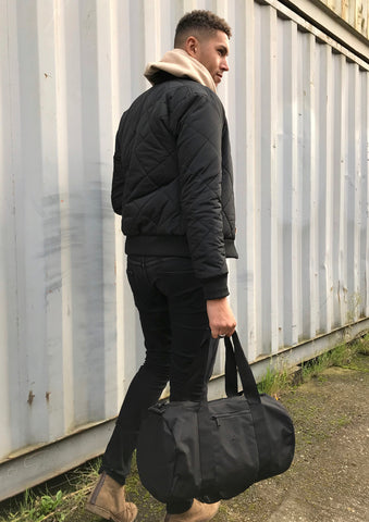 Anchor and Rose Black Holdall