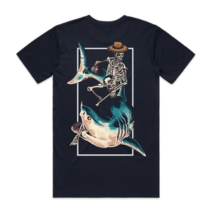 Chill Rider Navy T-Shirt