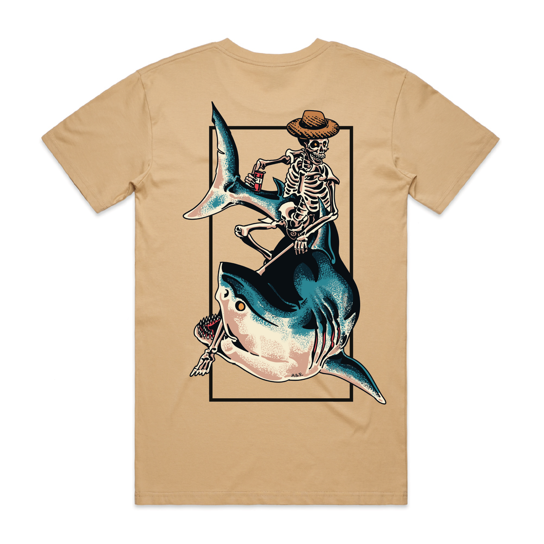 Chill Rider Tan T-Shirt