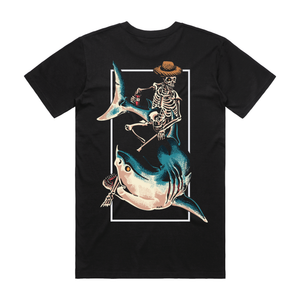 Chill Rider Black T-Shirt