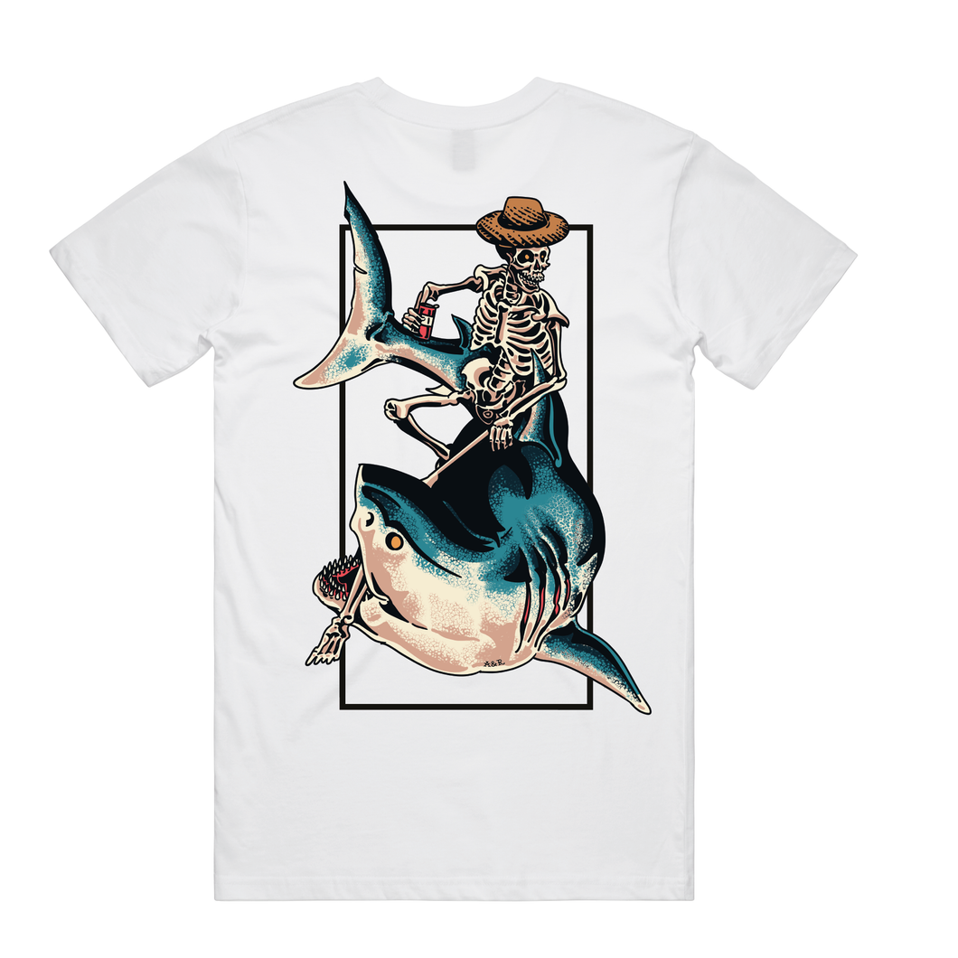 Chill Rider White T-Shirt