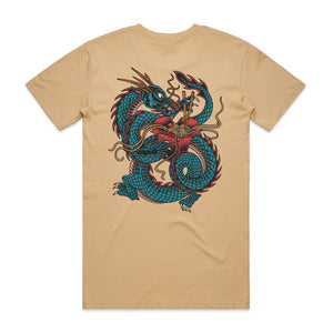 Dragonoodle Tan T-Shirt