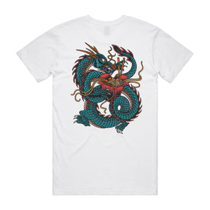 Dragonoodle White T-Shirt