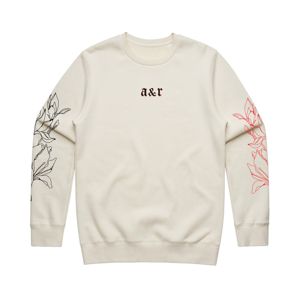 Magnolia Off White Sweatshirt
