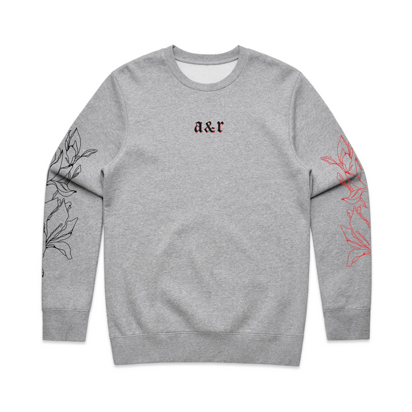 Magnolia Heather Grey Sweatshirt