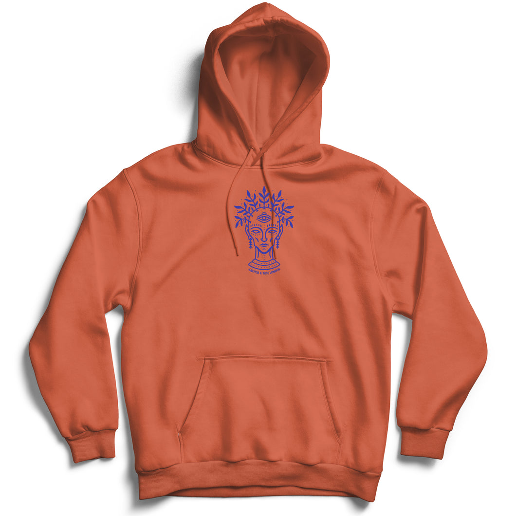 Clairvoyant - Burnt Orange Hoodie