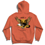 Wingin' It - Burnt Orange Hoodie