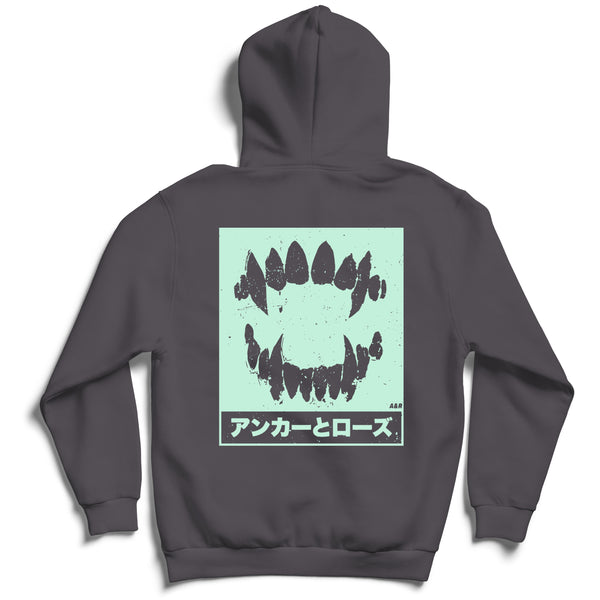 Street - Limited Storm Grey & Mint Hoodie