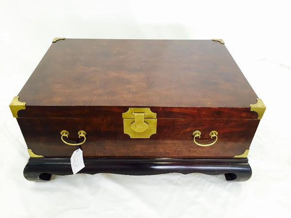Vintage Asian Trunk on Black Ming Base