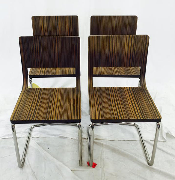 Vintage Mid Century Modern Italian Dining Chairs- Set of 4