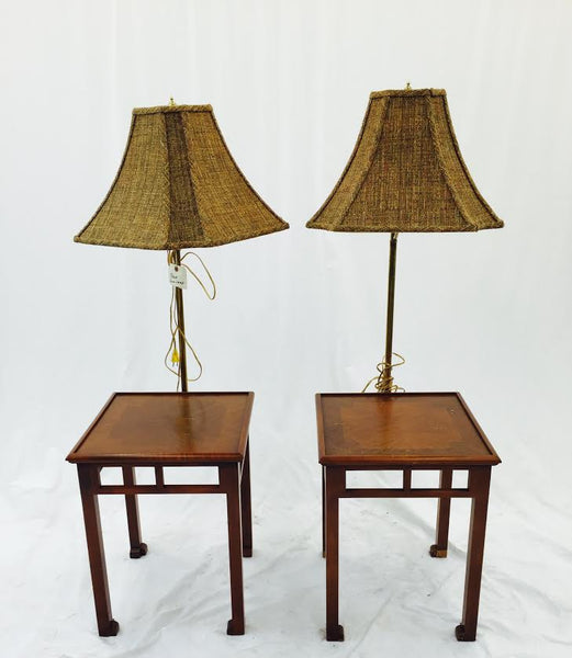 Pair Mid Century Lamp Tables